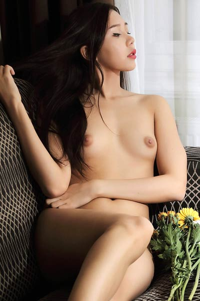 Model Sakura in I Love You, Pussy