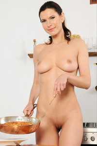 Model Suzanna A in The Secret Ingredient